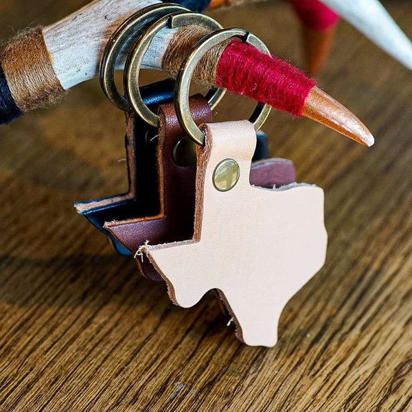 Keychain - Texas - Odin Leather Goods