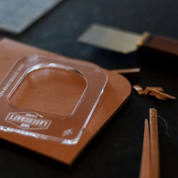 Corner Radius Acrylic Template - Odin Leather Goods