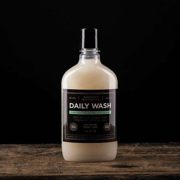 All-In-1 Daily Body Wash | Ceadar + Mint - Odin Leather Goods