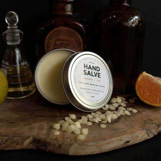Hand Salve | Bergamot + Teak - Odin Leather Goods