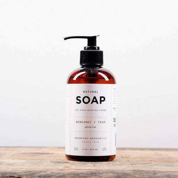Natural Hand Soap - Odin Leather Goods