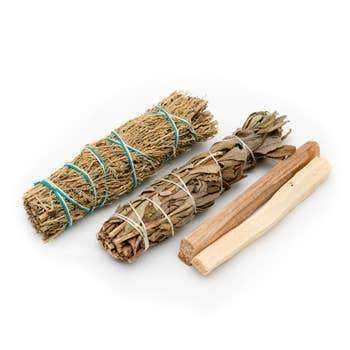 Smudge Set | Yerba | Palo | Blue Sage