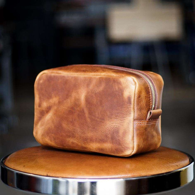 Dopp Kit - Odin Leather Goods