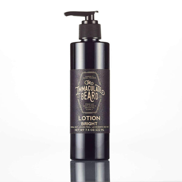 The Immaculate Beard Body Lotion - Odin Leather Goods