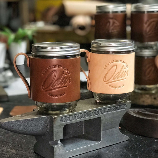 Mason Travel Mug - Odin Leather Goods