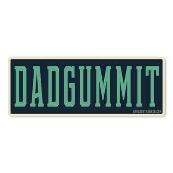 Sticker - Dadgummit - Odin Leather Goods