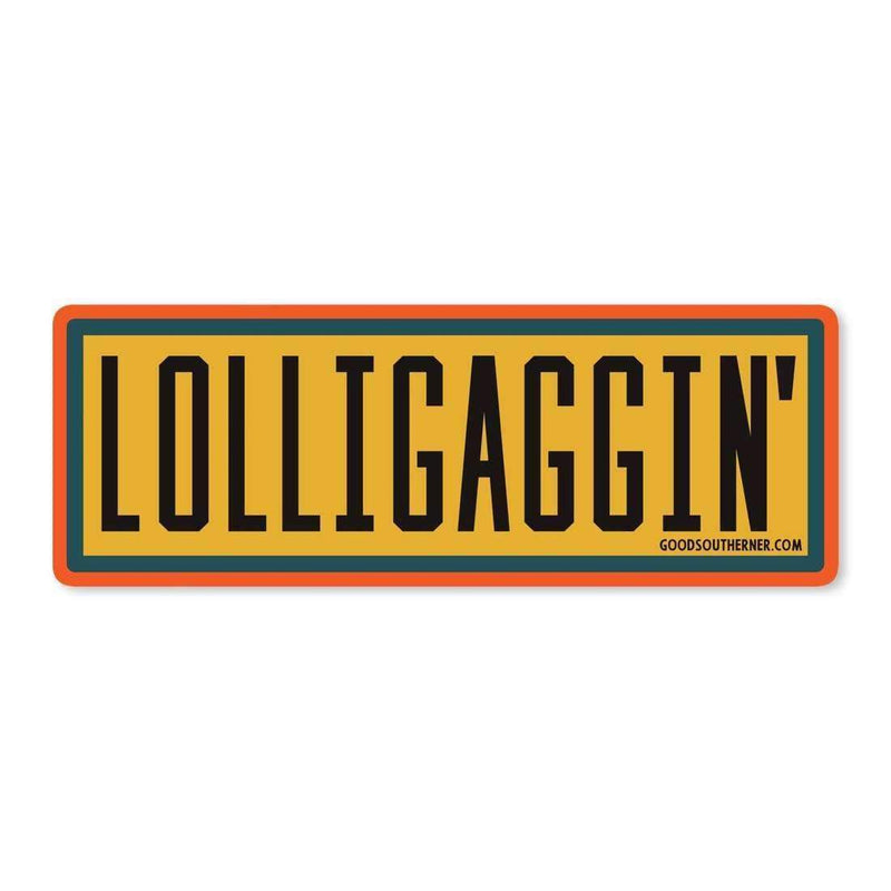 Sticker - Lolligaggin' - Odin Leather Goods