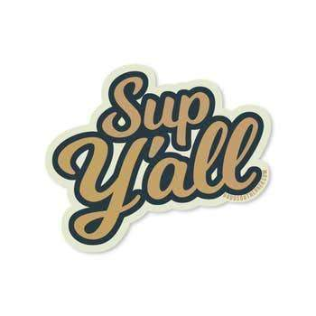 Sticker - Sup Y'all - Odin Leather Goods