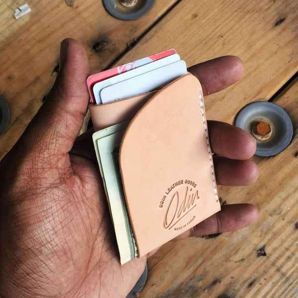 Edward Mini-Fold Wallet - Odin Leather Goods