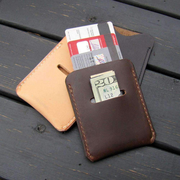 Elon Card Slip Wallet - Odin Leather Goods
