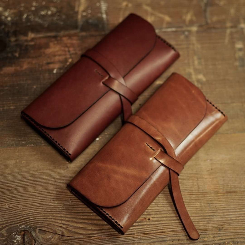 Long Road Wrap Clutch - Odin Leather Goods
