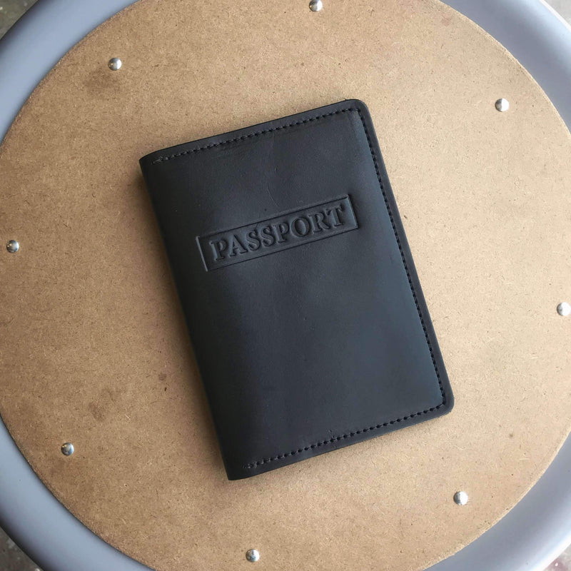 Passport Wallet - Odin Leather Goods