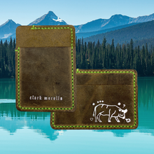 Load image into Gallery viewer, Leather Card Wallet (outback)