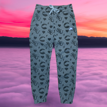 Load image into Gallery viewer, Monogram Sweatpants (gray)