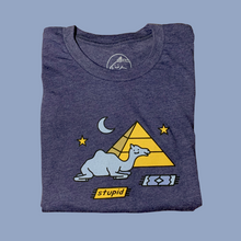 Load image into Gallery viewer, Camel Tee (navy)