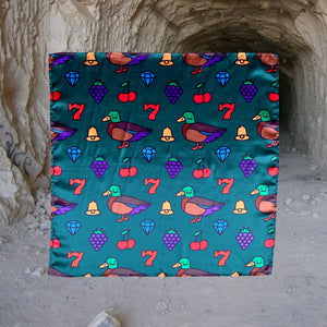 Lucky Duck Bandana (Green)