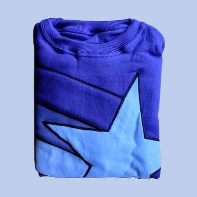 A.S.S. x Steady Hands Star Sweatshirt (purple)