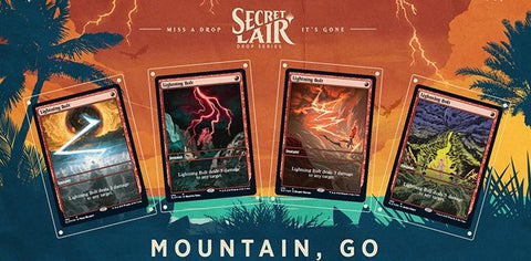 Secret Lair Drop: Summer Superdrop - Mountain, Go