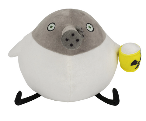 Makeship BERD GITD Plush ('<')