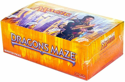 Dragons Maze Booster Box King Steven's Games