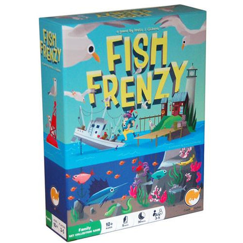 Fish Frenzy Board Game board game King Steven's Games
