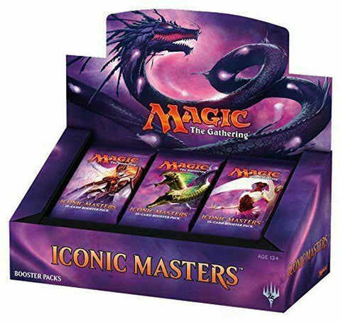 Iconic Masters Booster Box King Steven's Games