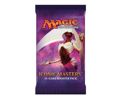 Iconic Masters Booster Pack King Steven's Games