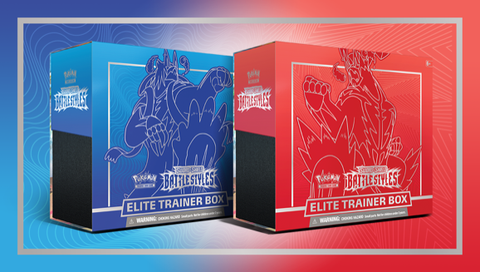 Pokémon TCG: Sword & Shield—Battle Styles Elite Trainer Box