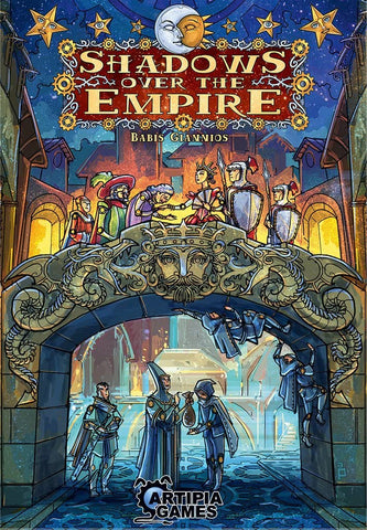 Shadows Over The Empire Board Game board game King Steven's Games