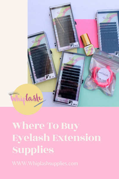 Where To Buy Eyelash Extension Supplies?