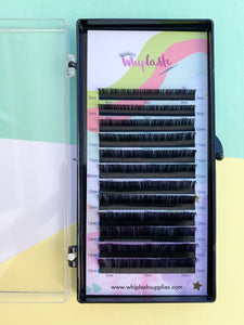 0.05mm Volume Mix Tray Whiplash Supplies Eyelash Extensions.