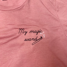 Load image into Gallery viewer, Tweezers Are My Magic Wand Embroidered T-Shirt