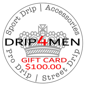 Gift Card $ 100.00 - drip4men.com - Mens online fashion store for premium denim jeans and urban streetwear.