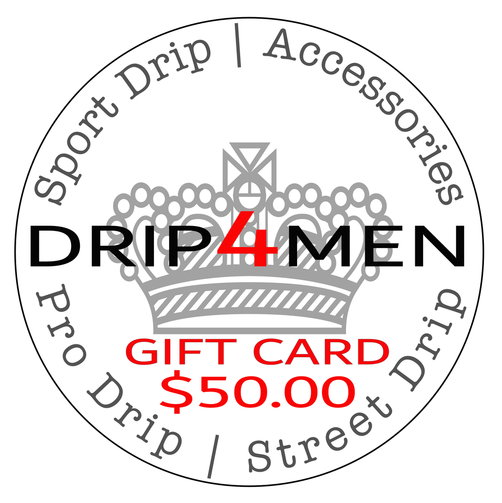 Gift Card $ 50.00 - drip4men.com - Mens online fashion store for premium denim jeans and urban streetwear.