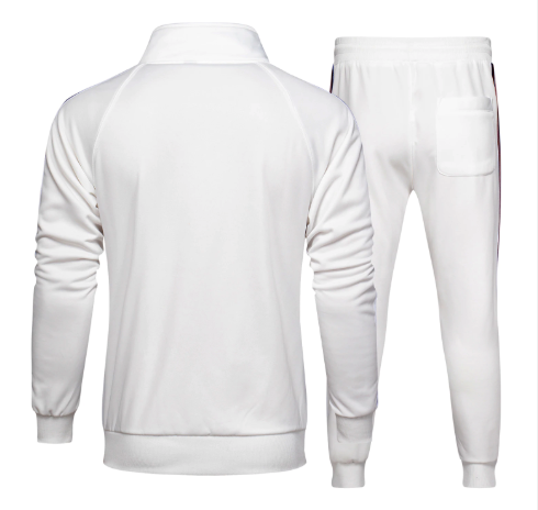 Triple Side Stripe Casual Tracksuit - drip4men.com - Mens online fashion store for premium denim jeans and urban streetwear.
