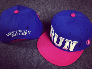 Run  Snapback Cap Baseball Selection - drip4men.com - Mens online fashion store for premium denim jeans and urban streetwear.