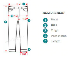 Plus Size Business Denim Jeans