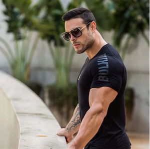 Quick Dry Fitness Compression Tee - drip4men.com - Mens online fashion store for premium denim jeans and urban streetwear.