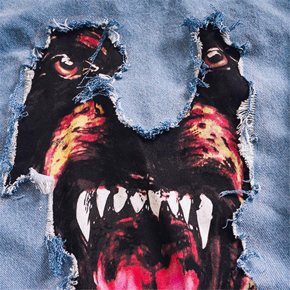 Bad Bad Dog Denim Jacket - Drip4Men™
