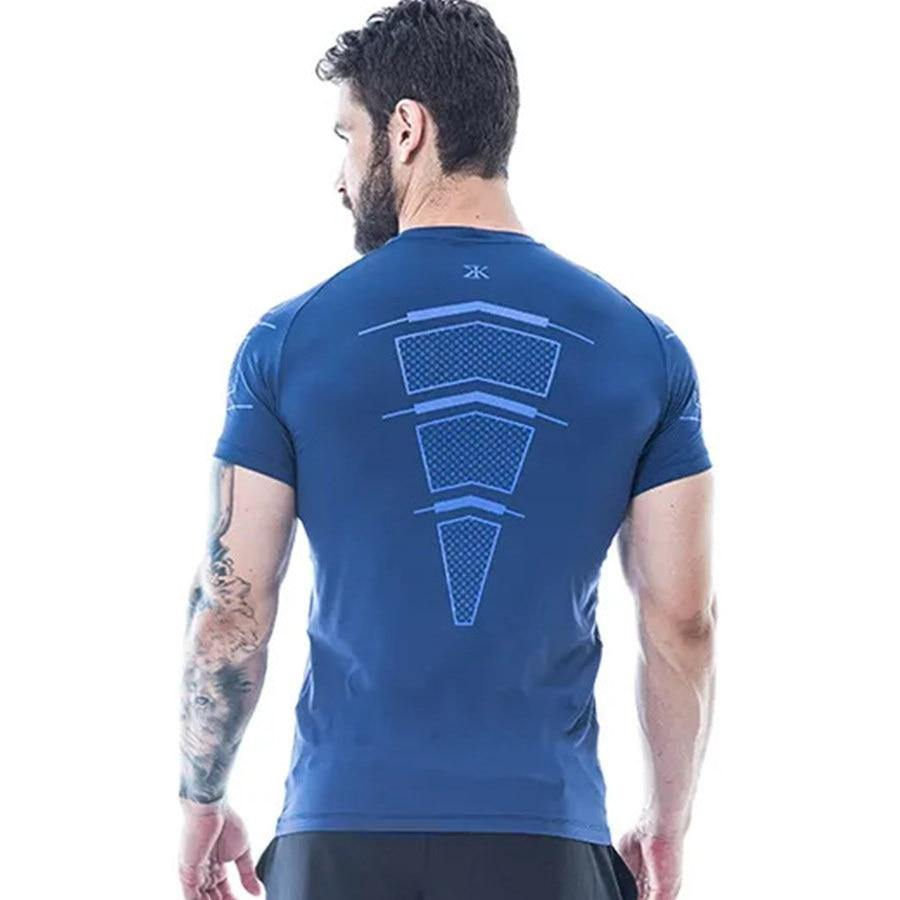 Quick Dry Fitness Compression T-Shirt - drip4men.com - Mens online fashion store for premium denim jeans and urban streetwear.