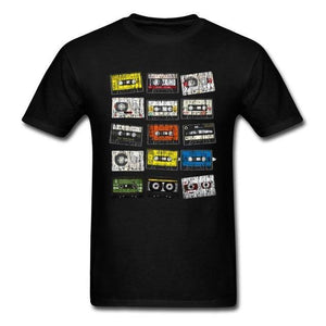Retro Cassette Slim Fit T-Shirt - drip4men.com - Mens online fashion store for premium denim jeans and urban streetwear.