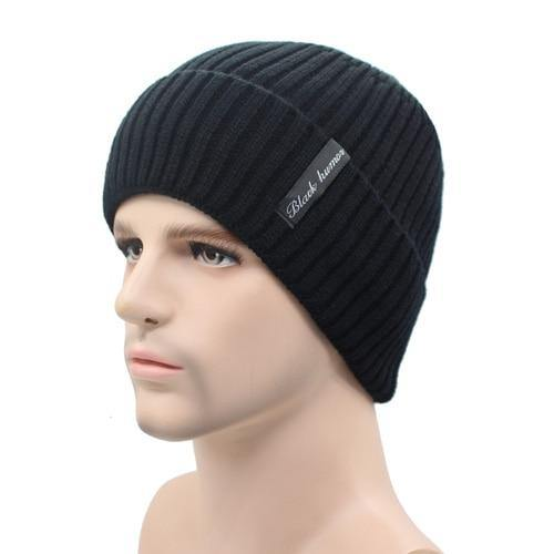 Knitted Skull Cap Winter Toque - drip4men.com - Mens online fashion store for premium denim jeans and urban streetwear.