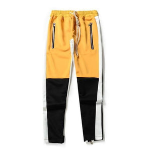 Colorblocked Striped Street Track Pants - drip4men.com - Mens online fashion store for premium denim jeans and urban streetwear.