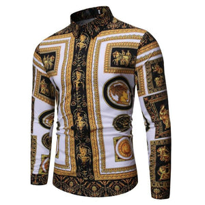 Baroque Long Sleeve Shirt Selection - drip4men.com - Mens online fashion store for premium denim jeans and urban streetwear.