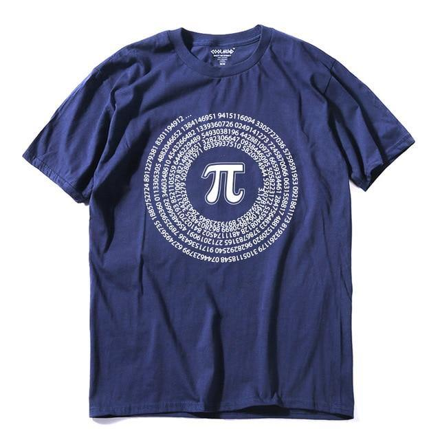 Slice of  Pi Cotton T-Shirt - drip4men.com - Mens online fashion store for premium denim jeans and urban streetwear.
