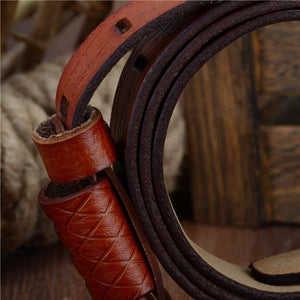 Genuine Leather Large Size Belt - drip4men.com - Mens online fashion store for premium denim jeans and urban streetwear.