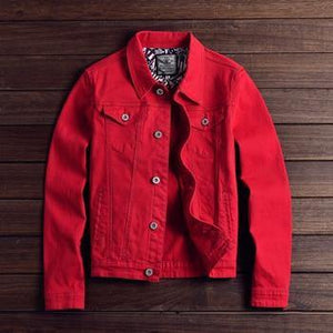 Mid-Weight Street Style Denim Jacket - drip4men.com - Mens online fashion store for premium denim jeans and urban streetwear.