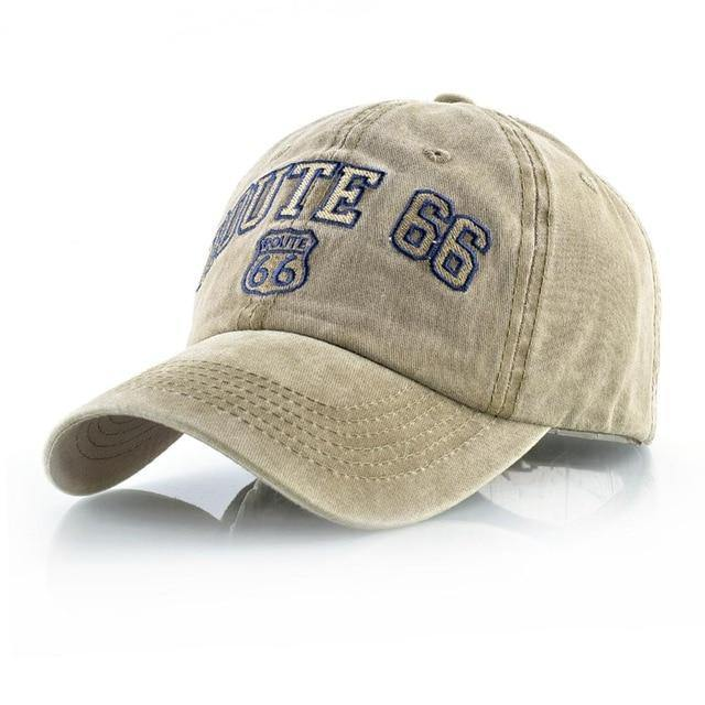 Route 66 Classic Baseball Cap - drip4men.com - Mens online fashion store for premium denim jeans and urban streetwear.