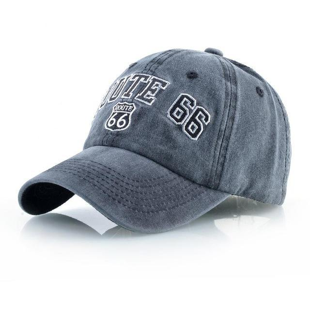 Route 66 Classic Baseball Cap - Drip4Men™
