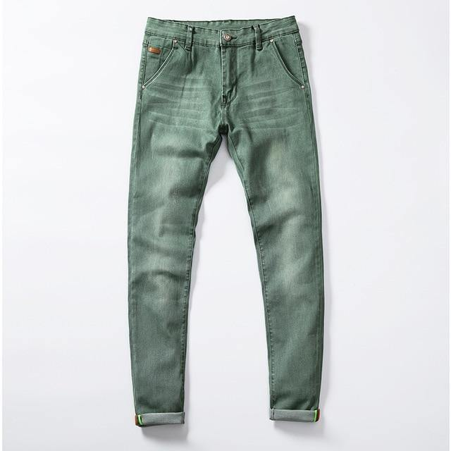 Colour Choices Stretch Skinny Jeans - drip4men.com - Mens online fashion store for premium denim jeans and urban streetwear.